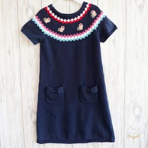 Gymboree Dresses - Gymboree New York Girls Sweater Dress Size 8